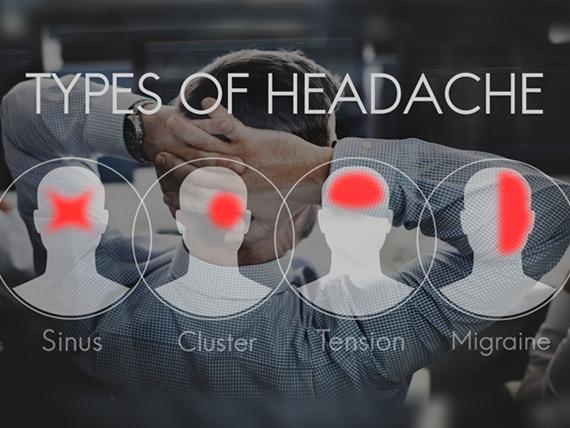 muskelspenninger i hodet